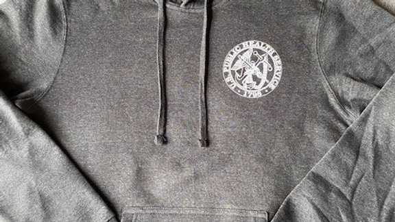 USPHS Fleece Hoodie Charcoal Grey