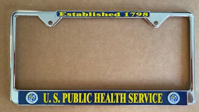 USPHS License Plate Frame
