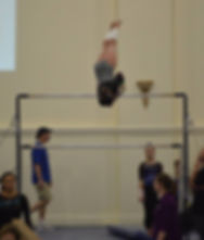 Girl's Gymnastics Competition in San Diego