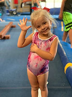 Girls Recreation Gymnastics at CGC.