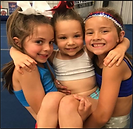 Learning Cheer techniques at CGC.