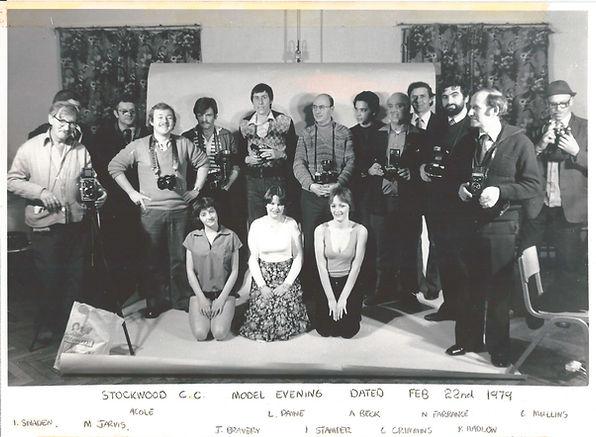 Stockwood Camera Club, 1979