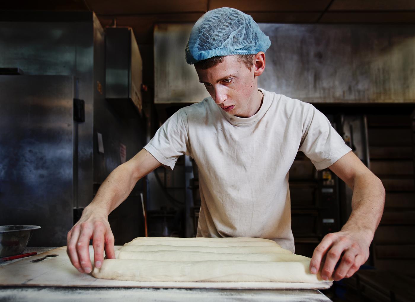 The Determined Baker