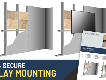 Safe & Secure Display Mounting
