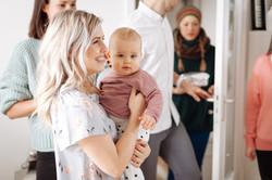 Anne Hoffmann Herzmensch Fotografie Geburtstag Baby Arm