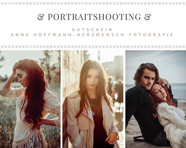 Anne Hoffmann - Herzmensch Fotografie Gutschein Portraitshooting