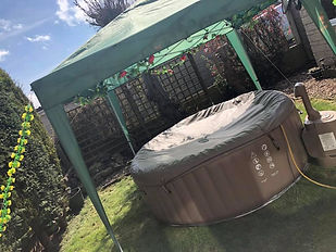 Hot tub hire in Wakefield