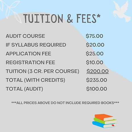 Audit Course............$75.00 If Syllab