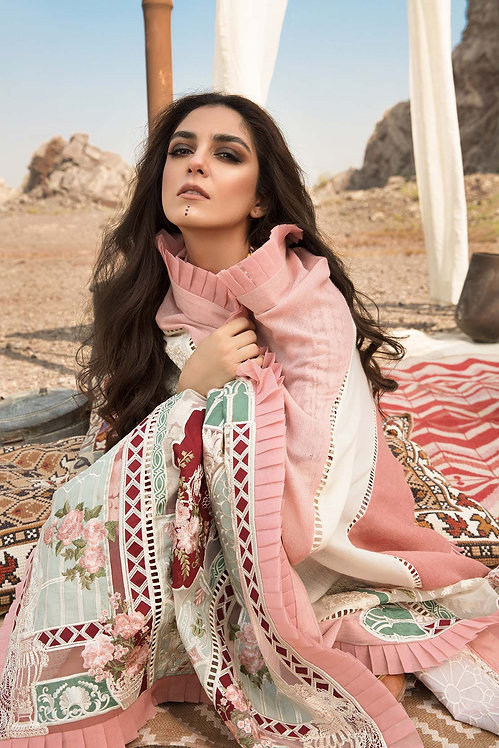 RUBY EMBROIDERED KHADDAR WINTER SUIT