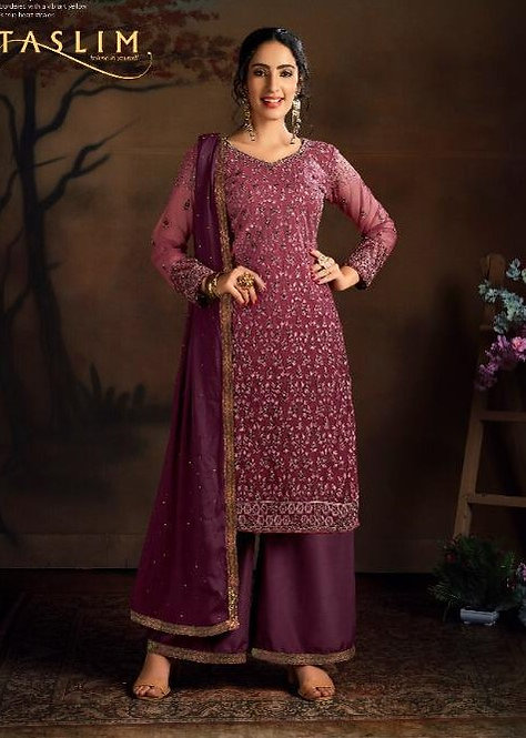 WINE EMBROIDERED BUTTERFLY NET SUIT