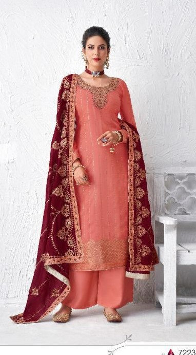 PINK DOLA SILK SUIT