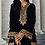 Thumbnail: BROWN EMBROIDERED VELVET SUIT