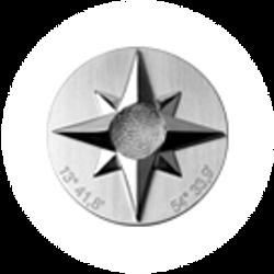 Windrose STELLA MARIS in Silber