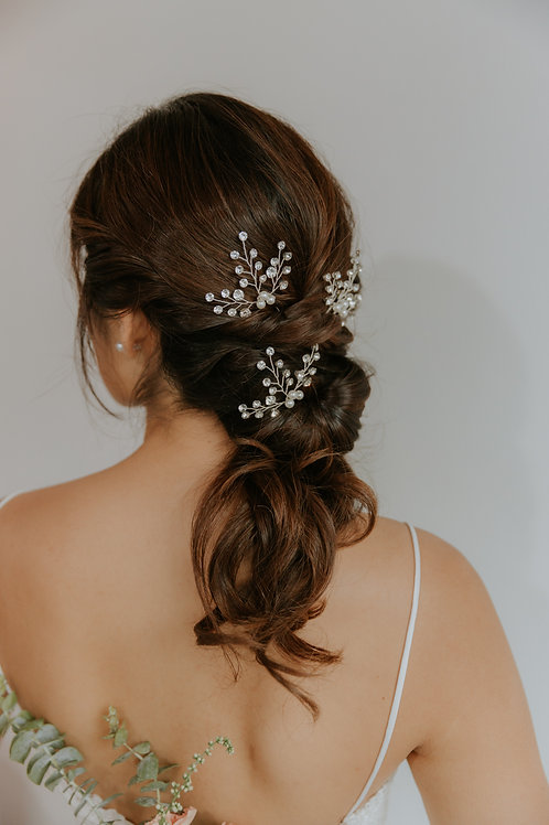 Ava hairpins (set of 3)