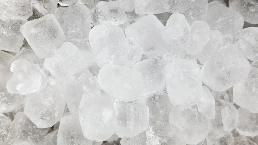 Ice Block Delivery
