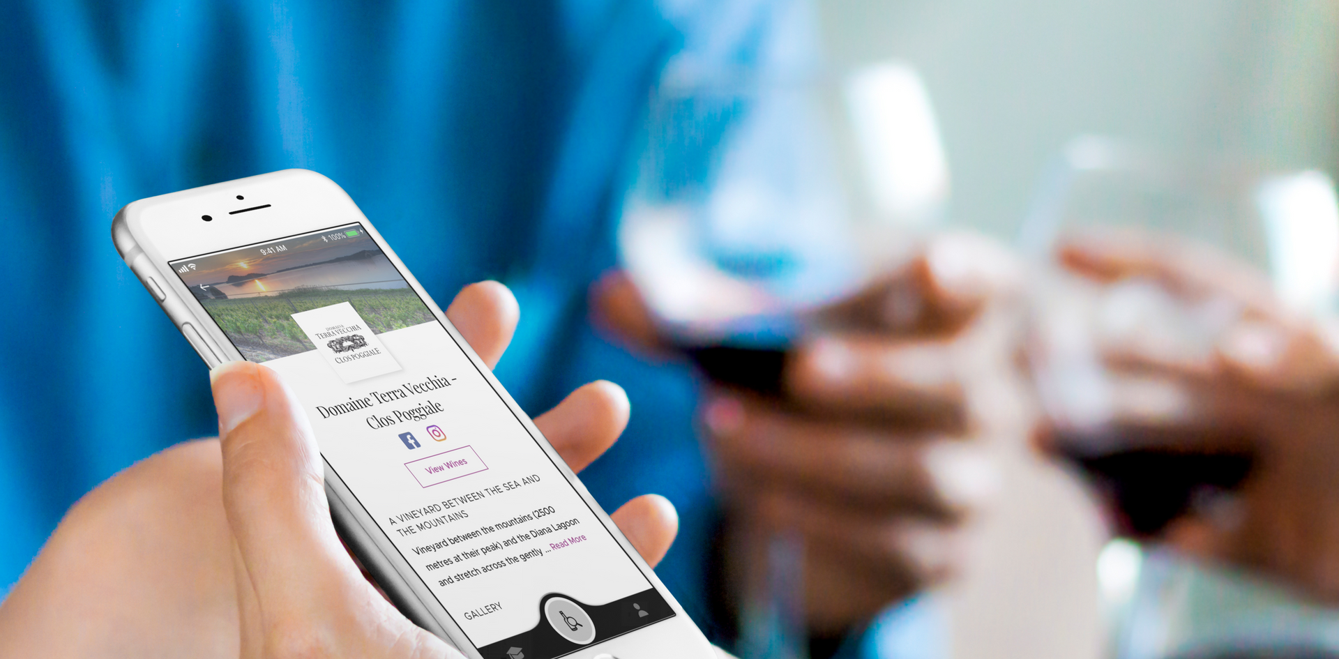 Navigate directly to the winery's page