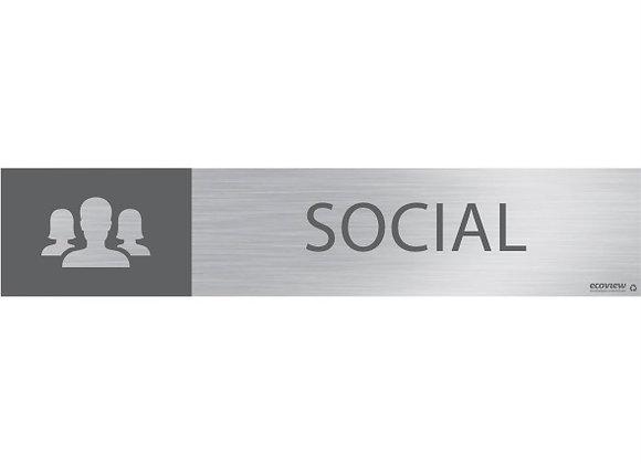 Placa Social