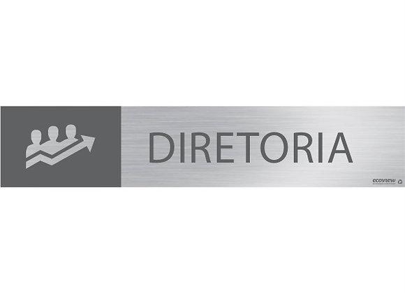 Placa Diretoria