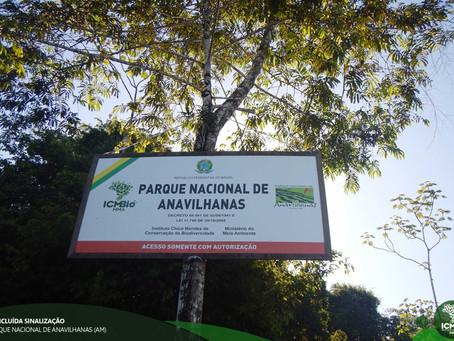 Concluída sinalização em Anavilhanas (AM)