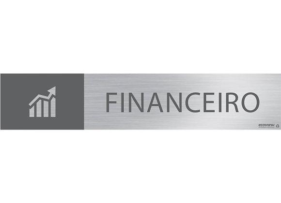 Placa Financeiro