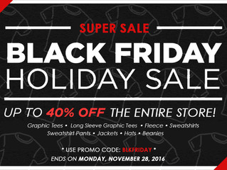 UQC BLACK FRIDAY Holiday Sale!!!