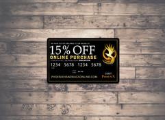 Phoenix Handbags Promotional Giftcard