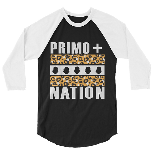 Fall '15 UQC Primo+Nation Baseball Long Tee in Cheetah