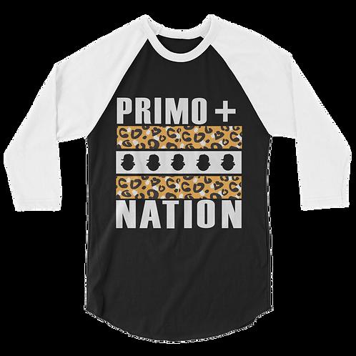 Fall '15 UQC Primo+Nation Baseball Long Tee in Cheetah