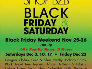 SHOP BZB International Black Friday & Saturday Weekend!!!