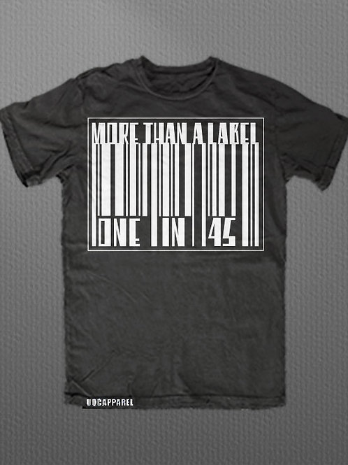 "AD Uniquely Created ""More Than A Label"" Graphic Tee"