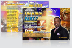 """Evangel Cathedral """"How To Study The Bible"""" Event Mailer"""
