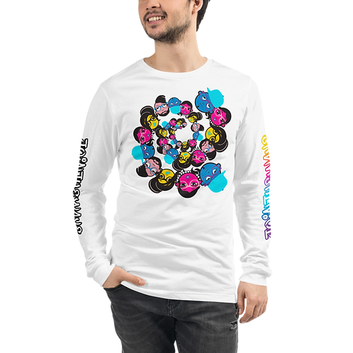 "UQC PHS II ""A Different World"" Unisex Long Tee"