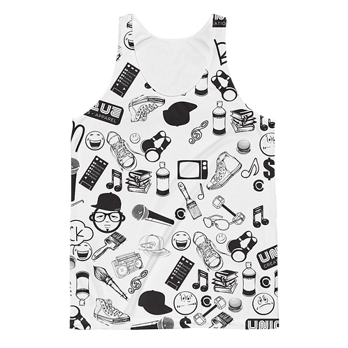 UQC SPR Wallpaper Graphic Tank Top