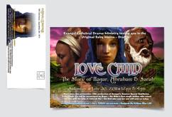"Evangel Cathedral ""Love Child"" Event Mailer"