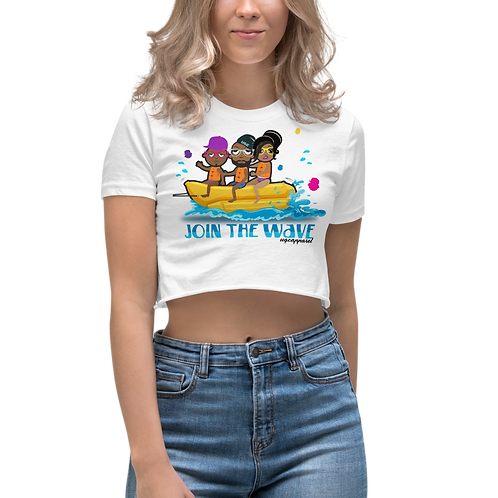 UQC Bon Voyage Banana Boat Crop Top