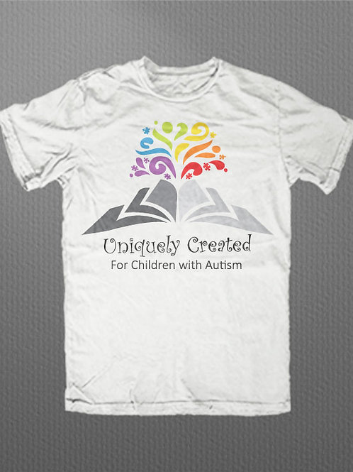 AD Uniquely Created Official Logo Graphic Tee