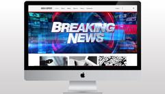 Media Report Website Development