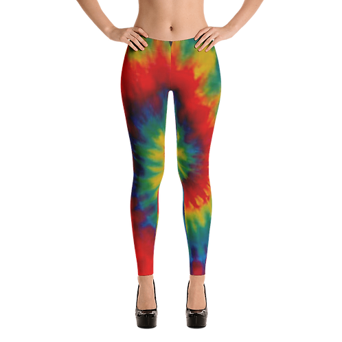UQC Rainbow Tye Dye Leggings