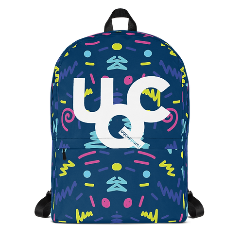 UQC SPR 18 Memphis Retro Fashion Backpack