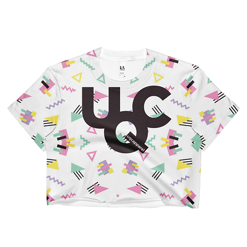 "UQC SPR'18 90's ""Confetti"" Crop Top"