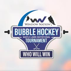 Window Nation Bubble Hockey Tournament Logo