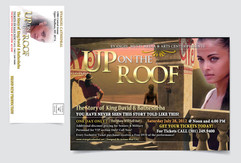 """Evangel Cathedral """"Up On The Roof"""" Event Mailer"""