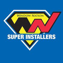 "Window Nation ""Super Installers"" Logo"