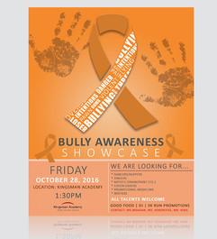 Bully Awareness Showcase Flyer