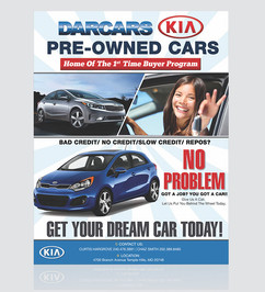 Kia DarCars Referral Program Flyer