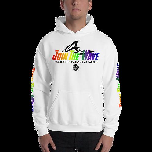 """UQC Phase II """"JoinTheWave"""" PRIDE Unisex Hoodie"""