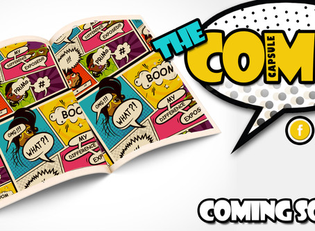 New Product Alert...The Comix Capsule Coming Soon...