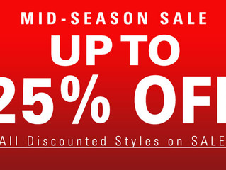 MID-SEASON SALE!!!