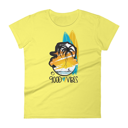 "UQC SPR 17 ""Surfs Up"" Womens Graphic Tee"