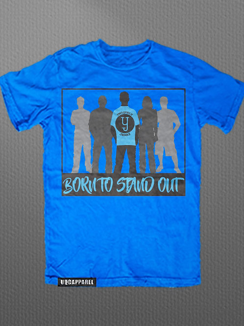 "AD Uniquely Created ""Born To Stand Out"" Graphic Tee"